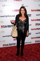 Julie Graham attends the World Premiere or Tower Block at Frightfest the 13th