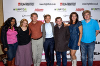 The cast and crew attends  the World Premiere of May I Kill U? at Frightfest the 13th
