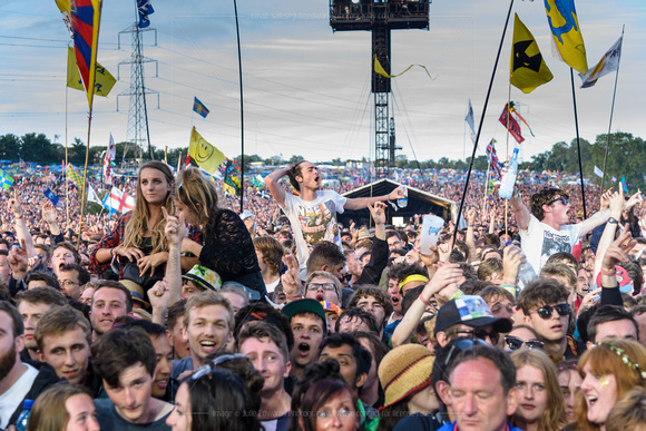 THE LIBERTINES PLAYS WORTHY FARM, GLASTONBURY, UK ON 26/06/2015