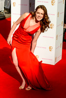 CHARLOTTE SPENCER ATTENDS HOUSE OF FRASER BRITISH ACADEMY TELEVISION AWARDS 2015 AT THEATRE ROYAL, DRURY LANE, LONDON, UK ON 10/05/2015