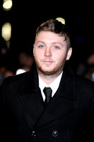 X FACTOR WINNER JAMES ARTHUR ATTENDS UK PREMIERE OF DJANGO UNCHAINED AT EMPIRE LEICESTER SQUARE, LONDON, UK ON 10/01/2013