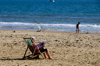 SUNNY WEATHER AT  BOURNEMOUTH, UK ON 19/09/2015