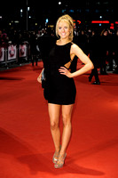 KIMBERLEY GARNER ATTENDS I GIVE IT A YEAR - EUROPEAN PREMIERE AT THE VUE LEICESTER SQUARE, LONDON, UK ON 24/01/2013