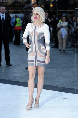 KIMBERLY WYATT ATTENDS INTERNATIONAL PREMIERE OF STAR TREK INTO DARKNESS AT THE EMPIRE LEICESTER SQUARE, LONDON, UK ON 02/05/2013