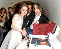 THE CAST ATTENDS THE SEASONING HOUSE SPECIAL SCREENING AFTER PARTY AT ZENNA, DEAN STREET, LONDON, UK ON 20/06/2013