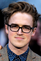 TOM FLETCHER ATTENDS EUROPEAN PREMIERE FOR MAN OF STEEL AT EMPIRE AND ODEON LEICESTER SQUARE, LONDON, UK ON 12/06/2013