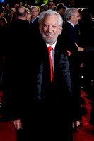 DONALD SUTHERLAND ATTENDS UK PREMIERE OF THE HUNGER GAMES: MOCKINGJAY - PART 2 AT ODEON LEICESTER SQUARE, ,  ON 05/11/2015