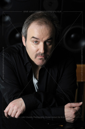 DAVID ARNOLD AT AIR STUDIOS, LONDON, UK ON 22/02/2014