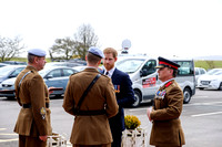 Prince Henry of Wales KCVO at the Museum of Army Flying, Middle Wallop on 16/03/2018