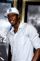 Usain Bolt attends UK Premiere of the film Expendables 2