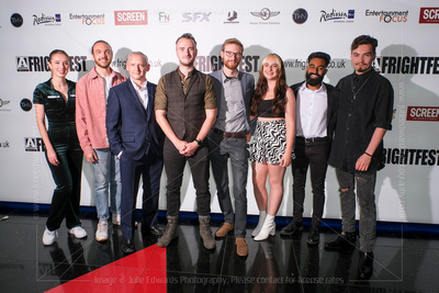 Julie Edwards Photography: FRIGHTFEST 2021 AT CINEWORLD LEICESTER SQUARE &emdash; Seb Cox and Cast