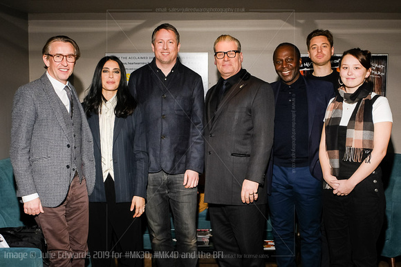 Steve Coogan, Nadine Labaki, Mark Kermode, Liv Hill, James Gardn