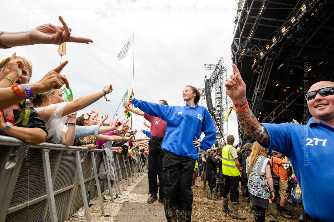 PERFORMANCES AT GLASTONBURY FESTIVAL  AT GLASTONBURY FESTIVAL, WORTHY FARM, PILTON, UK ON 29/06/2014