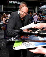 Jason Statham attends UK Premiere of the film Expendables 2
