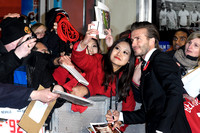 DAVID BECKHAM ATTENDS THE CLASS OF 92 WORLD PREMIERE AT ODEON WEST END, LONDON, UK ON 01/12/2013