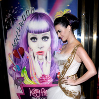 "Katy Perry attends European premiere of her film  ""Part Of Me"""