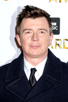 RICK ASTLEY ATTENDS BBC MUSIC AWARDS AT EXCEL LONDON, ,  ON 12/12/2016