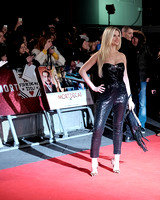 SARAH JAYNE DUNN ATTENDS UK PREMIERE OF MORTDECAI AT THE EMPIRE LEICESTER SQUARE, LONDON, UK ON 19/01/2015
