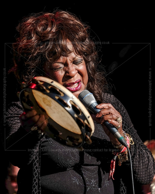 MARTHA REEVES AND THE VANDELLAS PLAYS FESTIVAL NO. 6, PORTMEIRION, UK ON 07/09/2014