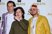 LUKAS GRAHAM ATTENDS BBC MUSIC AWARDS AT EXCEL LONDON, ,  ON 12/12/2016