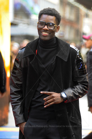 WRETCH 32 ATTENDS GODZILLA EUROPEAN PREMIERE AT ODEON LEICESTER SQUARE, LONDON, UK ON 11/05/2014