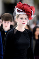 HATS OFF TO ISABELLA BLOW AT SOMERSET HOUSE, LONDON, UK ON 01/12/2013
