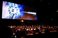 PREPERATIONS FOR  INTERSTELLAR LIVE AT ROYAL ALBERT HALL, LONDON, UK ON 30/03/2015