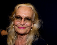 "Goldfinger ""Bond"" girl Shirley Eaton attends a celebration of the James Bond film ""Goldfinger"" ."