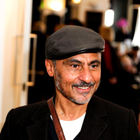 Vincent Ebrahim attends  screening of MATERIAL
