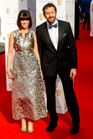 DAWN O'PORTER AND CHRIS O'DOWD ATTENDS HOUSE OF FRASER BRITISH ACADEMY TELEVISION AWARDS 2015 AT THEATRE ROYAL, DRURY LANE, LONDON, UK ON 10/05/2015