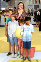 KIRSTIE ALLSOPP ATTENDS THE WORLD PREMIERE OF 'MINIONS'  AT ODEON LEICESTER SQUARE, LONDON, UK ON 11/06/2015