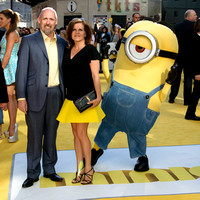 CHRIS RENAUD ATTENDS THE WORLD PREMIERE OF 'MINIONS'  AT ODEON LEICESTER SQUARE, LONDON, UK ON 11/06/2015