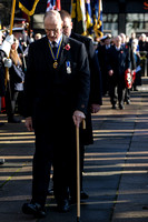 Remembrance sunday parade and service  Brighton, Uk