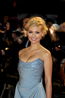 ACTRESS MYANNA BURING ATTENDS UK PREMIERE OF THE TWILIGHT SAGA BREAKING DAWN PART 2 AT THE EMPIRE LEICESTER SQUARE, LONDON, UK ON 14/11/2012