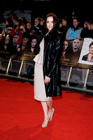 OLYMPIC GOLD MEDALIST VICTORIA PENDLETON ATTENDS UK PREMIERE OF THE TWILIGHT SAGA BREAKING DAWN PART 2 AT THE EMPIRE LEICESTER SQUARE, LONDON, UK ON 14/11/2012
