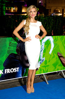 NICOLA MCLEAN ATTENDS UK PREMIERE OF RISE OF THE GUARDIANS AT THE EMPIRE LEICESTER SQUARE, LONDON, UK ON 15/11/2012