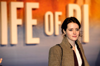 CLAIRE FOY ATTENDS UK PREMIERE OF LIFE OF PI AT EMPIRE LEICESTER SQUARE, LONDON, UK ON 03/12/2012