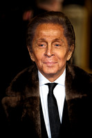 ITALIAN FASHION DESIGNER VALENTINO GARAVANI ATTENDS WORLD PREMIERE OF LES MISÉRABLES  AT LEICESTER SQUARE, LONDON, UK ON 05/12/2012