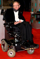 STEPHEN HAWKING ATTENDS EE BRITISH ACADEMY FILM AWARDS ARIVALS AT ROYAL OPERA HOUSE, LONDON, UK ON 08/02/2015