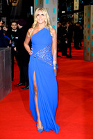 TIZIANA ROCCA ATTENDS EE BRITISH ACADEMY FILM AWARDS ARIVALS AT ROYAL OPERA HOUSE, LONDON, UK ON 08/02/2015