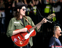 JAMES BAY PLAYS WORTHY FARM, GLASTONBURY, UK ON 26/06/2015
