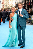 DAVID HASSELHOFF AND HAYLEY ROBERTS  ATTENDS THE EUROPEAN PREMIERE OF ENTOURAGE AT THE VUE WEST END, LONDON, UK ON 09/06/2015