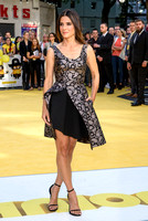 SANDRA BULLOCK ATTENDS THE WORLD PREMIERE OF 'MINIONS'  AT ODEON LEICESTER SQUARE, LONDON, UK ON 11/06/2015