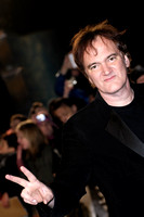 WRITER AND DIRECTOR QUENTIN TARANTINO ATTENDS UK PREMIERE OF DJANGO UNCHAINED AT EMPIRE LEICESTER SQUARE, LONDON, UK ON 10/01/2013