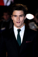 OLIVER CHESHIRE ATTENDS UK PREMIERE OF DJANGO UNCHAINED AT EMPIRE LEICESTER SQUARE, LONDON, UK ON 10/01/2013