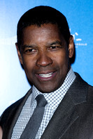 DENZEL WASHINGTON ATTENDS FLIGHT - UK PREMIERE AT THE EMPIRE LEI