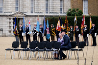 THE NATIONAL COMMEMORATION AND DRUMHEAD SERVICE  AT HORSE GUARDS PARADE, LONDON, UK ON 15/08/2015
