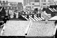 Worthing Rooftops in the snow