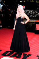 AMELIA LILY ATTENDS UK PREMIERE OF A GOOD DAY TO DIE HARD AT THE EMPIRE LEICESTER SQUARE, LONDON, UK ON 07/02/2013