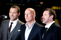 CAST ATTENDS UK PREMIERE OF A GOOD DAY TO DIE HARD AT THE EMPIRE LEICESTER SQUARE, LONDON, UK ON 07/02/2013